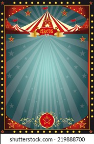 Black fun circus. A circus dark background for you