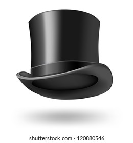 black gentleman hat