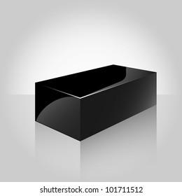 Black Glossy Box
