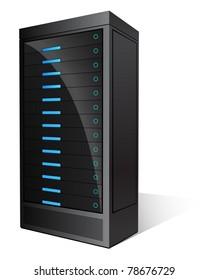 Black Glossy Server
