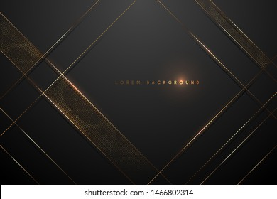 black and gold abstract background