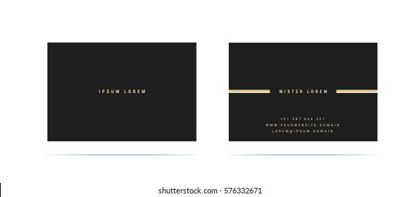 Bilder Stockfotos Und Vektorgrafiken Visitenkarten Gold