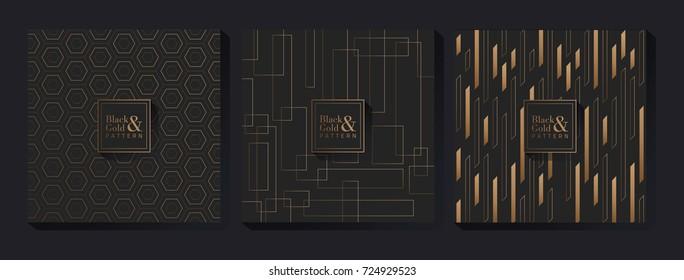 Black & Gold Pattern