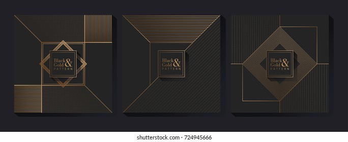 Black & Gold Pattern