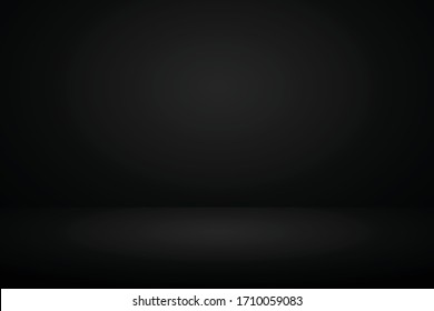 black gradient abstract studio room background for valentine, christmas and displaying product.