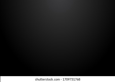 black gradient radial background, blank space for text. Vector illustration eps 10.