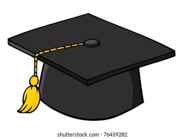 Graduation Cap Cartoon Images Stock Photos Vectors