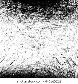 Black grange scratched background.