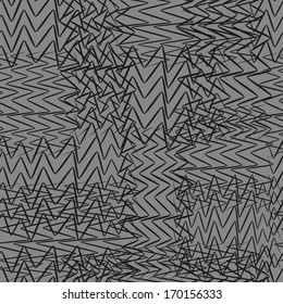 Black And Gray Abstract Seamless