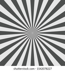 Black and gray starburst vector background.