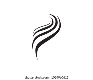 black hair women logo and symbols