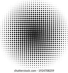 Black halftone background. Black polka dot. Halftone pattern. Modern clean Halftone Background, backdrop, texture, pattern or overlay. Vector illustration.