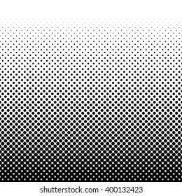 Black halftone pattern. Vector illustration