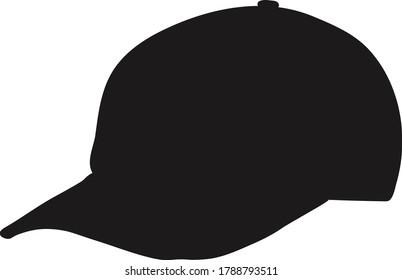 Black hat, one category illustration