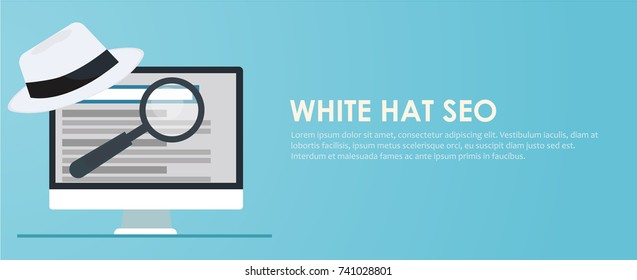 Black hat seo banner.