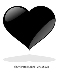 Black Heart Images Stock Photos Vectors Shutterstock