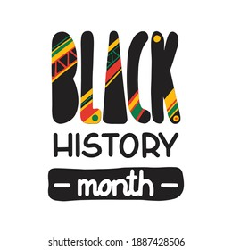 Black history month. African American History. Celebrated annual.