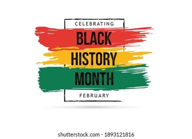 Black history month celebrate. vector illustration design graphic Black history month
