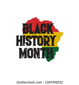 Black History Month Vector Template Design Illustration