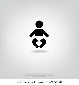 Black icon baby