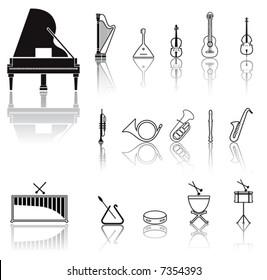Black Icons, Musical instrument (set3,part4)