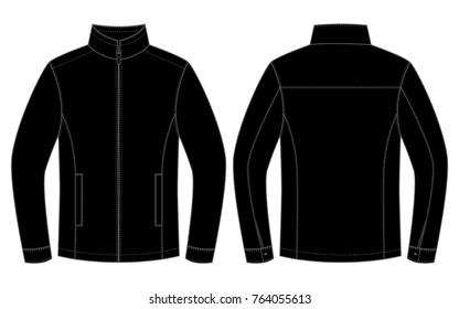 Black Jacket for template