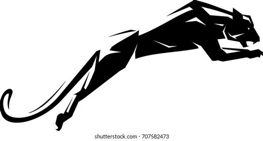 Black Jaguar Leap