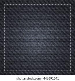 Black jeans texture background