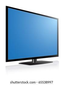 Black LCD, LED, Plasma TV , Blue Screen