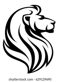 lion head images stock photos vectors shutterstock rh shutterstock com lion face clipart black and white lion face drawing clipart