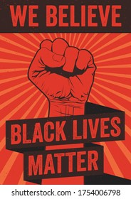 Black lives matter typographic posters. Vector graphics can be used for t-shirt print or poster. We said black lives matter, we never said only black lives matter, we know all lives matter quote.