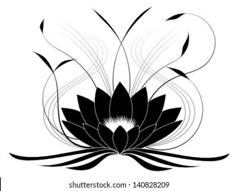 Lotus Flower Ornament Images Stock Photos Vectors