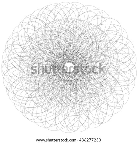 Black Mandala For Coloring Vector Page Art Design Intricate