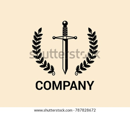 Black Medieval Ancient Steel Antique Knight Stock Vector Royalty