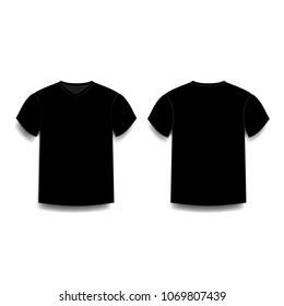 Similar Images Stock Photos Vectors Of Black T Shirt