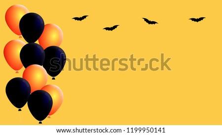 Black and orange glossy