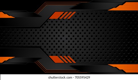 black orange tech corporate background 260nw 705595429