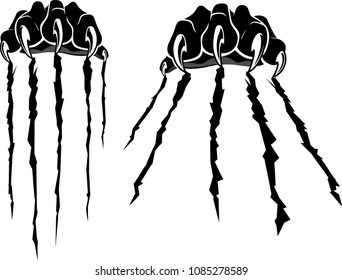 Black Panther Pair Claws