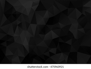 Black Pattern Geometric style.