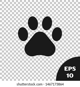 Paw Prints Transparent Images, Stock Photos & Vectors