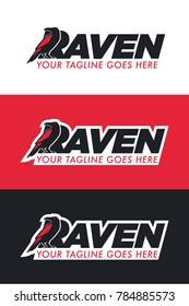 Black Raven Logo
