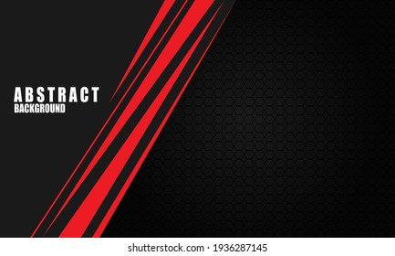 black and red background with stripes