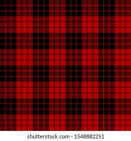 Black and Red tartan plaid Scottish seamless pattern.Texture from plaid,tablecloths, clothes, shirts, dresses, jacket, skirt, paper, blankets and other textile products. Christmas concept.