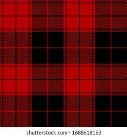 Black and Red tartan plaid Scottish seamless pattern.Christmas and New year concept.Texture from tartan,plaid, tablecloths,clothes,shirts,dresses,paper, bedding, blankets.