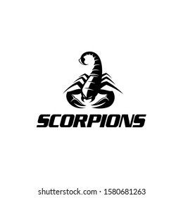 Black Scorpion - Scorpion Logo Great for Any Related Logo Brand Theme Activity or Company.