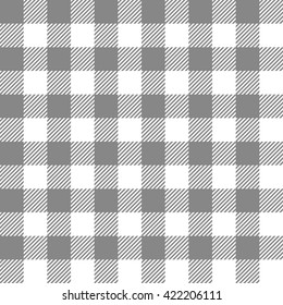 black seamless gingham pattern