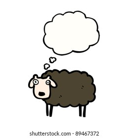black sheep cartoon
