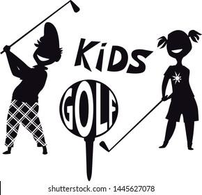 Junior Golf Images Stock Photos Vectors Shutterstock