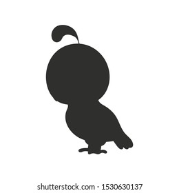 Black silhouette. Vector illustration isolated on white background. Design element. Template for your design, books, stickers, posters, cards, clothes.