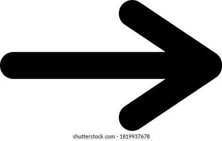 Black simple arrow to the right